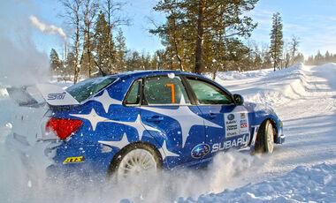 Driftschule, Subaru Impreza, Start
