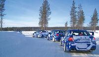 Driftschule, Subaru Impreza, Testwagen