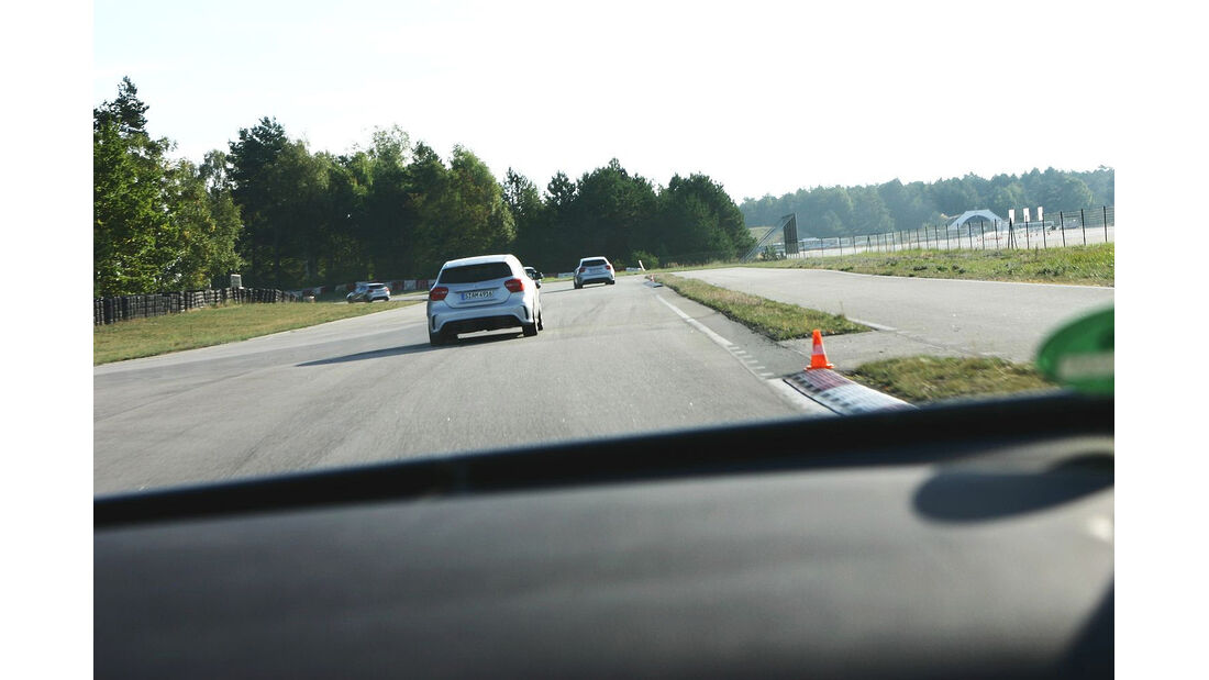 Driving Center Groß Dölln, Mercedes A 250 Sport