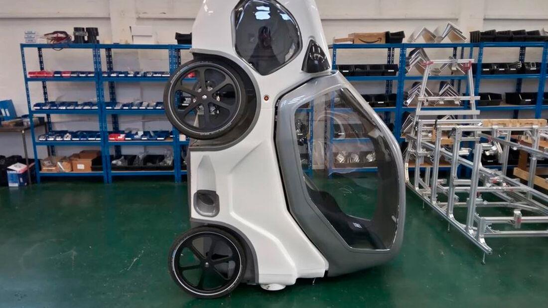 Drycycle Fahrrad-Auto