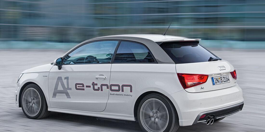 Dual-Mode-Hybrid-Technologie, A1 E-Tron, Seitenansicht