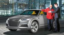 Dual-Mode-Hybrid-Technologie, Audi