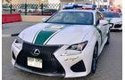Dubai Police Cars - Polizeiautos Dubai - Lexus RC F