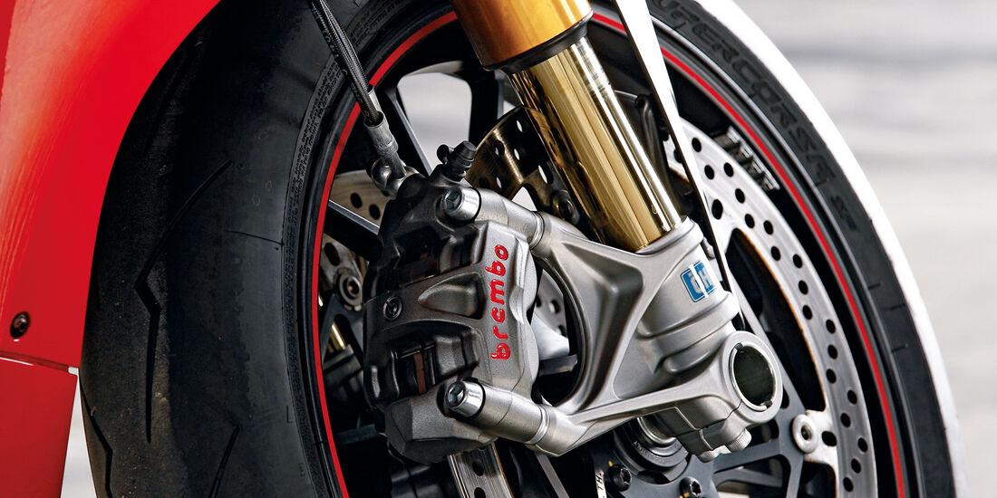 Ducati 1199 Panigale S, Rad, Bremsen