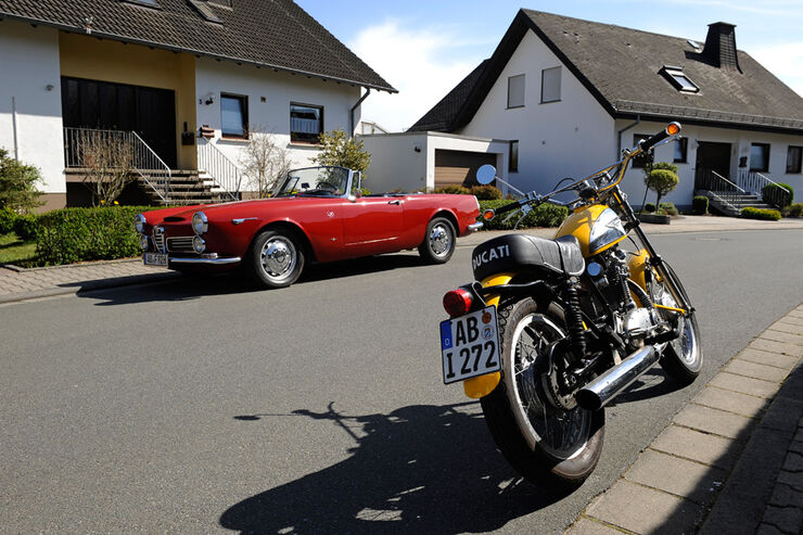 Ducati 350 Scrambler, Alfa Romeo 2600 Touring Spider