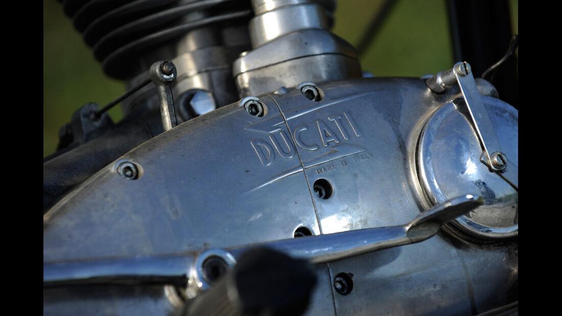 Ducati 350 Scrambler, Detail