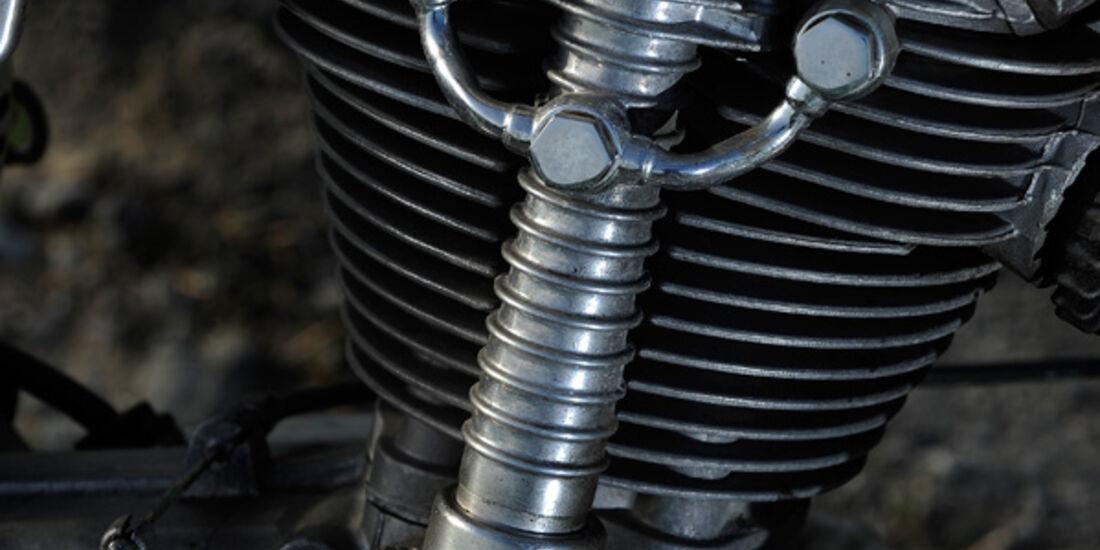 Ducati 350 Scrambler, Detail, Motor