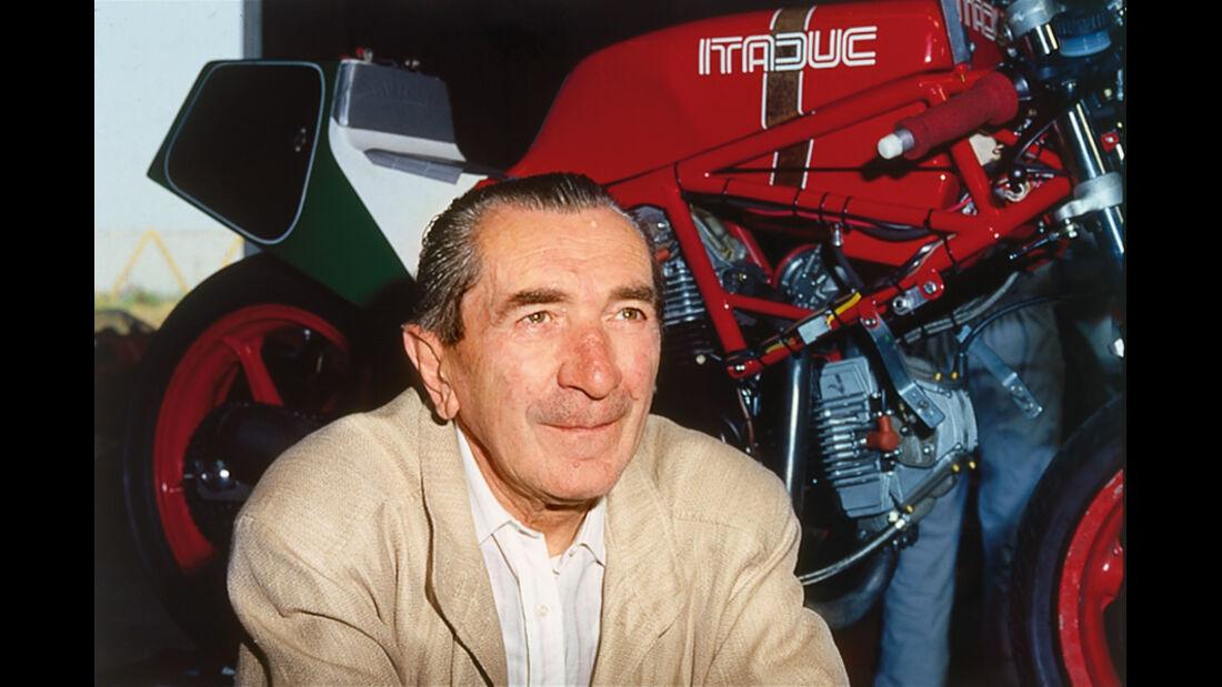 Ducati 350 Scrambler, Fabio Taglioni