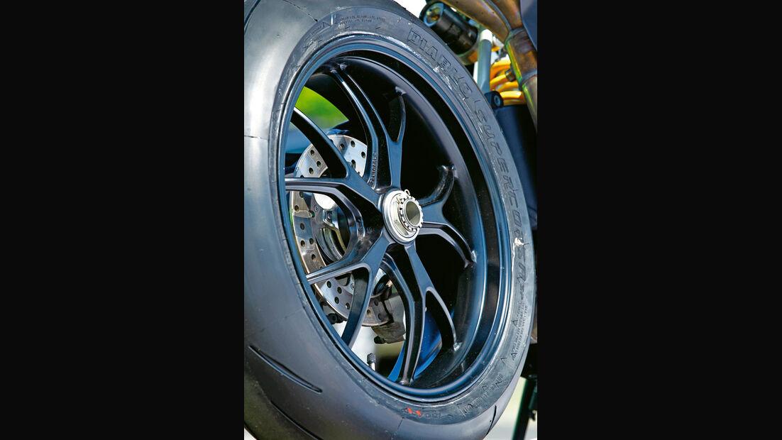 Ducati 848 EVO, Rad