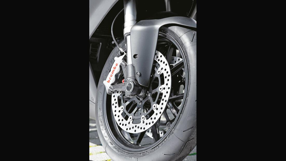 Ducati 848 EVO, Rad, Bremsscheibe