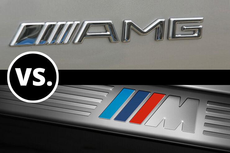 Duell BMW M gegen Mercedes AMG