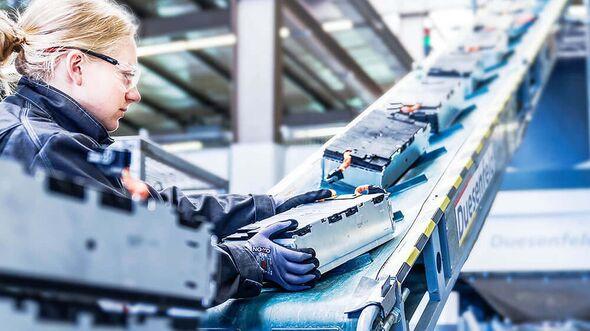 Duesenfeld Recycling von Lithium-Ionen-Batterien