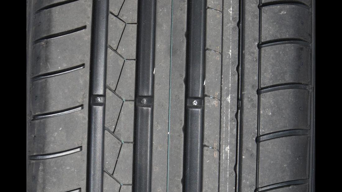 Dunlop SportMaxx GT Reifenprofil