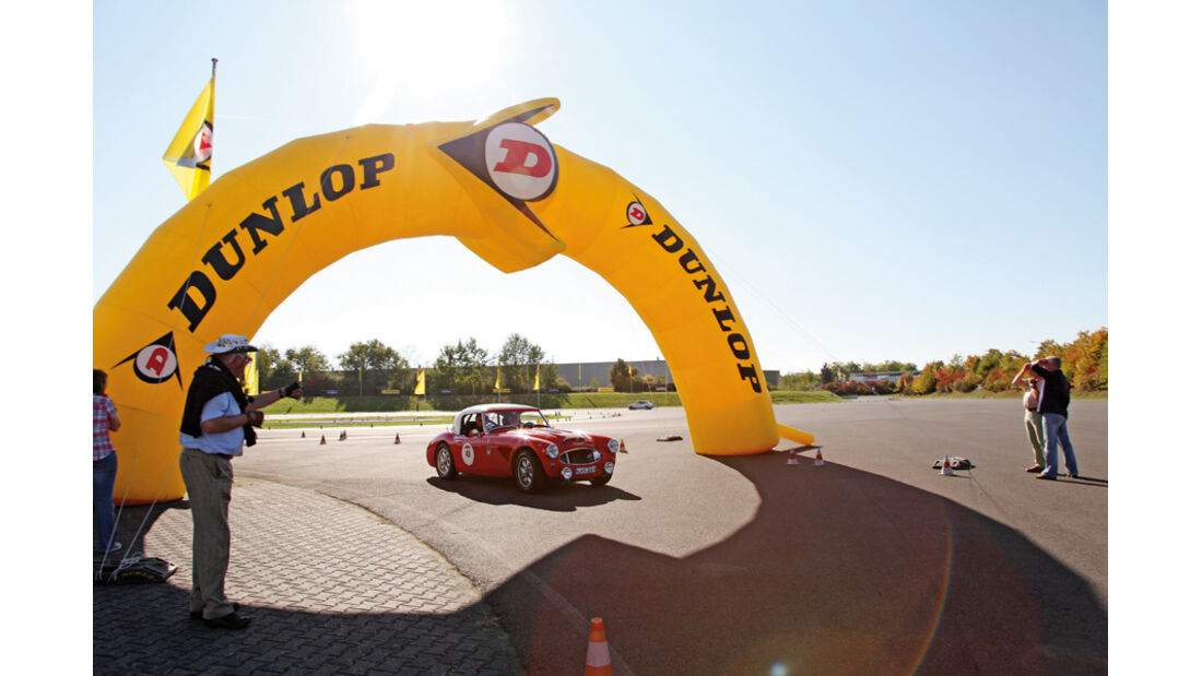 Dunlop-Teststrecke, Ziel