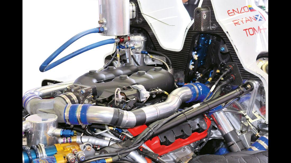Durchflussmengenbegrenzer, Motor