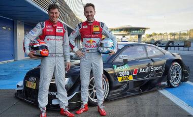 Duval - Rast - Audi - DTM 2017
