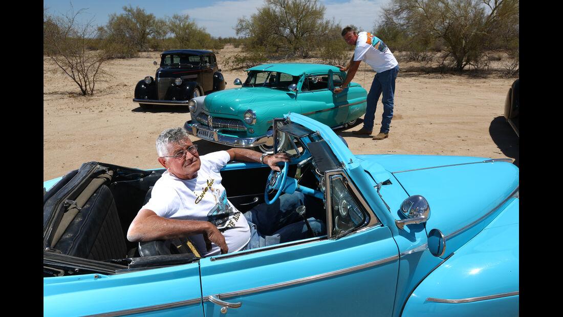 Dwarf Cars, Miniaturautos, Seitenansicht