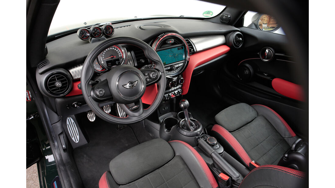 Dynamic-Automotive-Mini JCW, Sitze, Cockpit