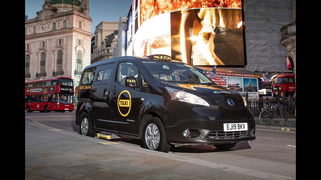 Dynamo Nissan Elektro-Taxi London