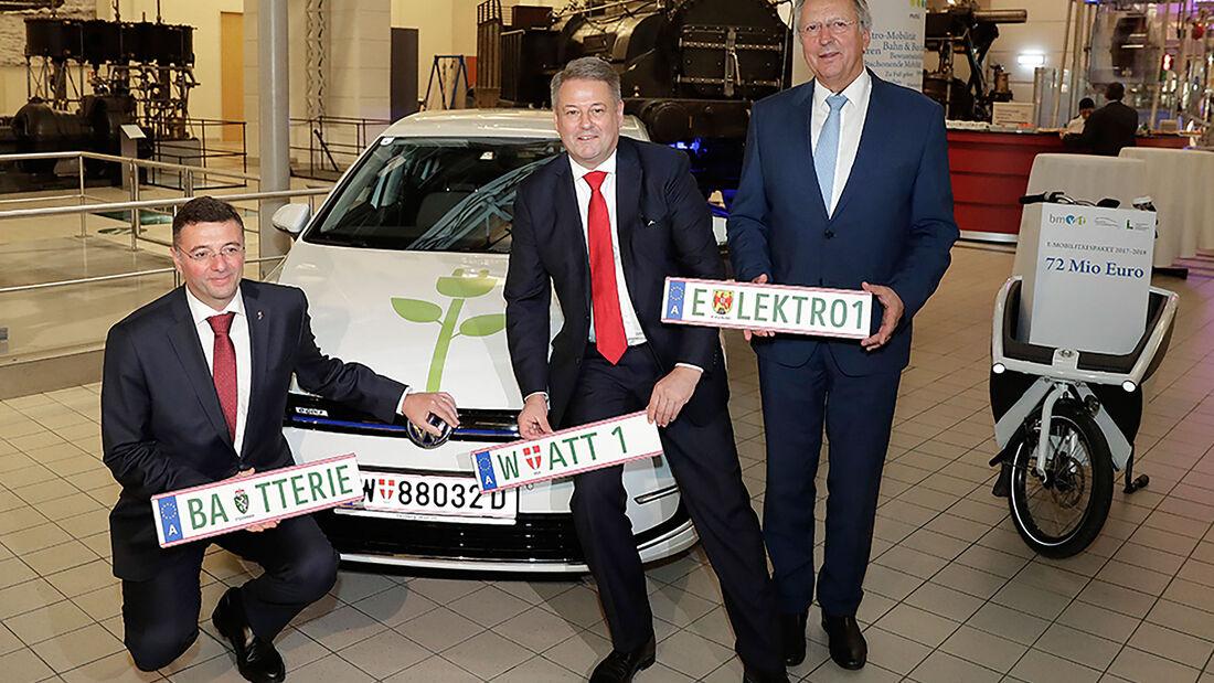 E-Auto Kennzeichen Österreich