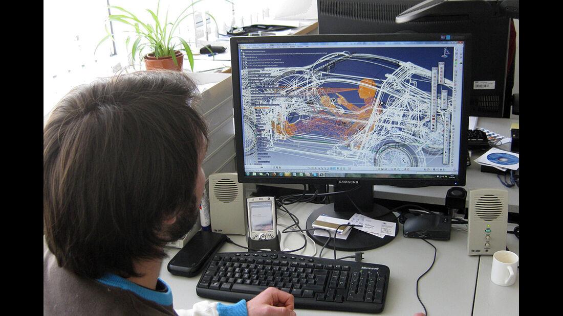 E-Auto Mute der TU München, Ergonomie Programmierung