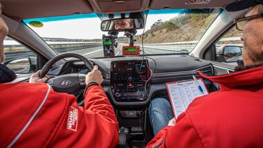 E-Auto Verbrauchstest; Renault Zoe R135; Citroen DS3 e-Tense; VW e-Up; Hyundai ioniq e