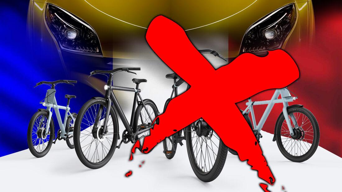 E-Bike Video Werbespot Frankreich VanMoof Verbot