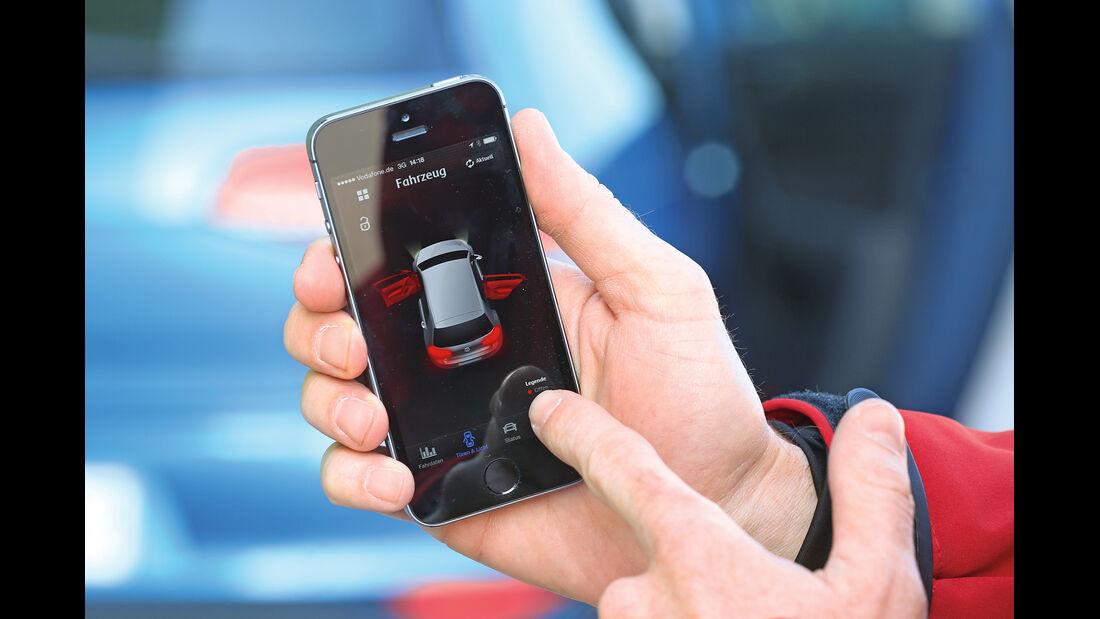 E-Golf, Smartphone, App