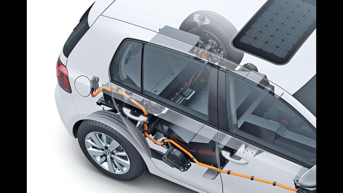 E-Mobilität, Durchsicht, Technik