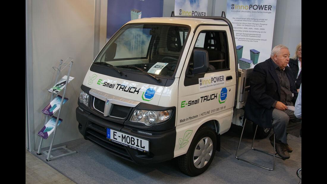 E-Small-Truck-BW - Electric Vehicle Symposium 2017 - Stuttgart - Messe - EVS30