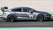 EPCS V2.3 Tesla P100DL - Elektro-Rennwagen - Circuit de Barcelona-Catalunya