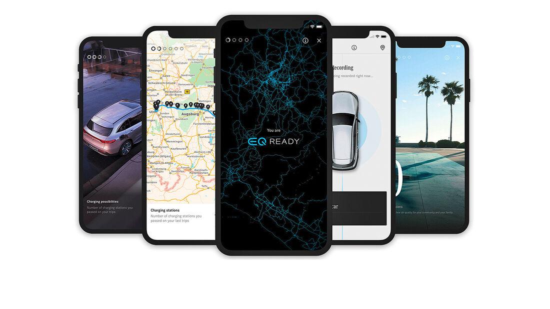 EQ-Ready-App, Bildschirmaufnahmen