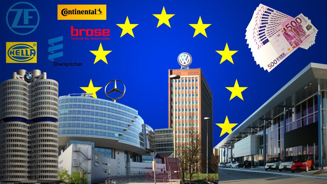 EU-Förderung Mobilität