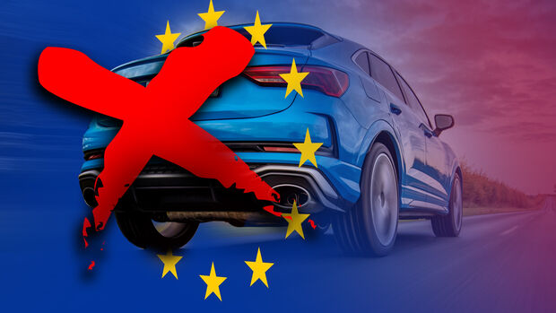 EU Verbrenner Verbot Collage Audi RS Q3