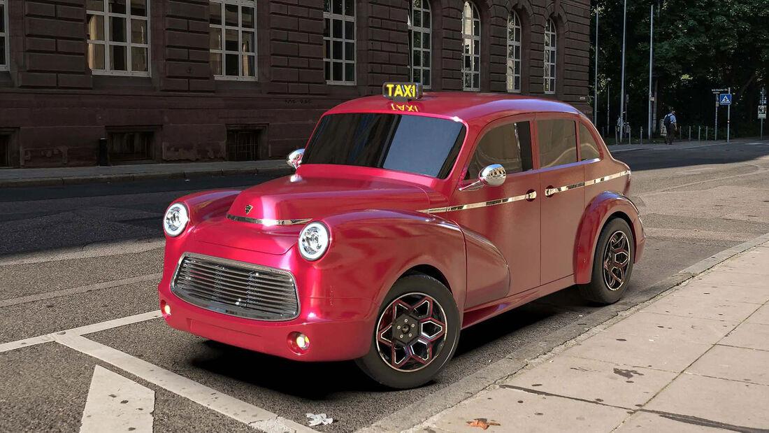 EV Electra Taxi