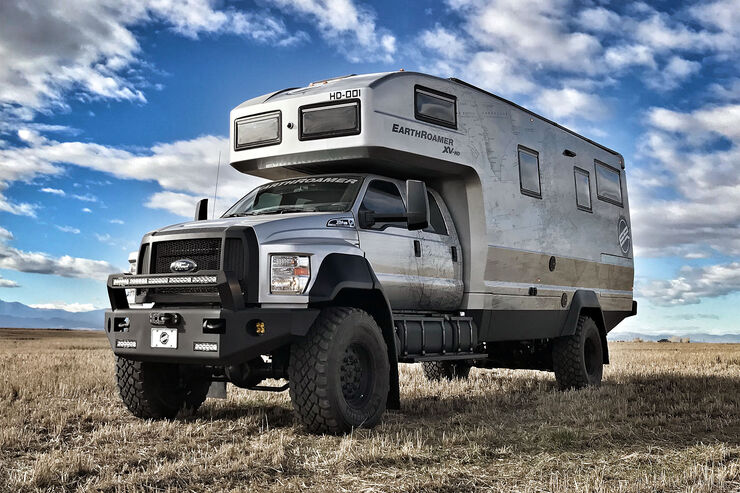 Earthroamer Expeditionsmobil XV-HD und XV-LTS