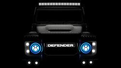 East Coast Defender Land Rover mit Tesla-Elektroantrieb