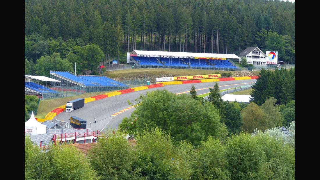 Eau Rouge - Formel 1 - GP Belgien - Spa-Francorchamps - 20. August 2014