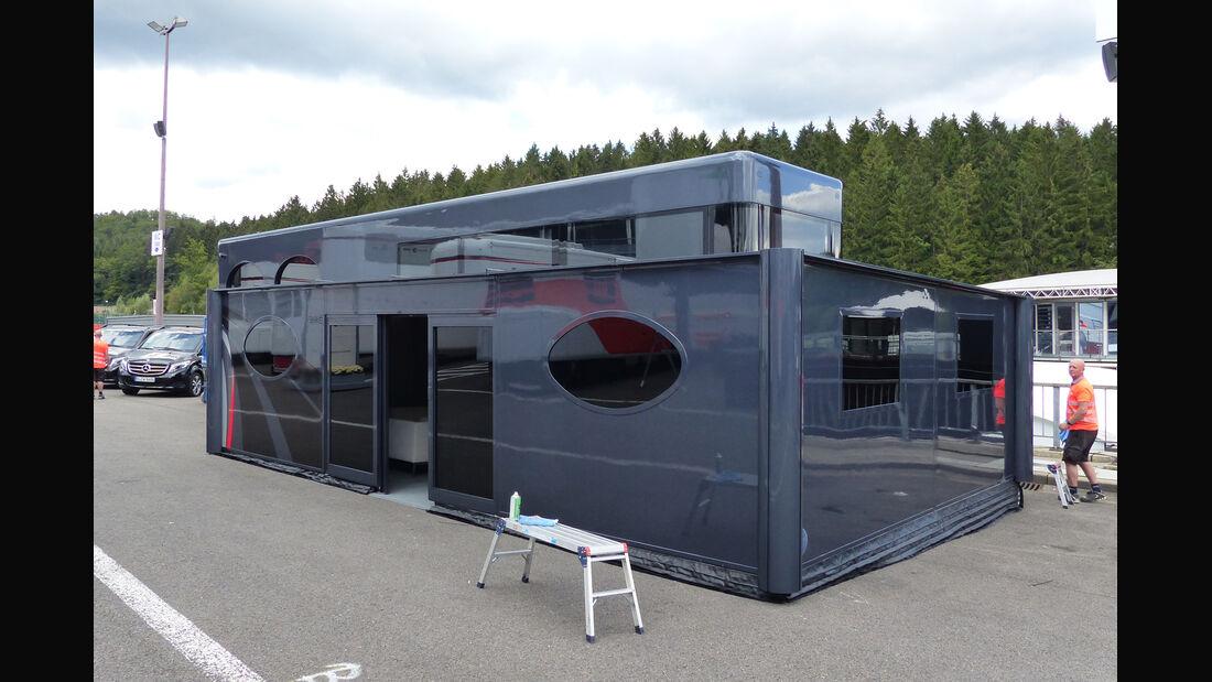 Ecclestone-Motorhome - Formel 1 - GP Belgien - Spa-Francorchamps - 20. August 2014