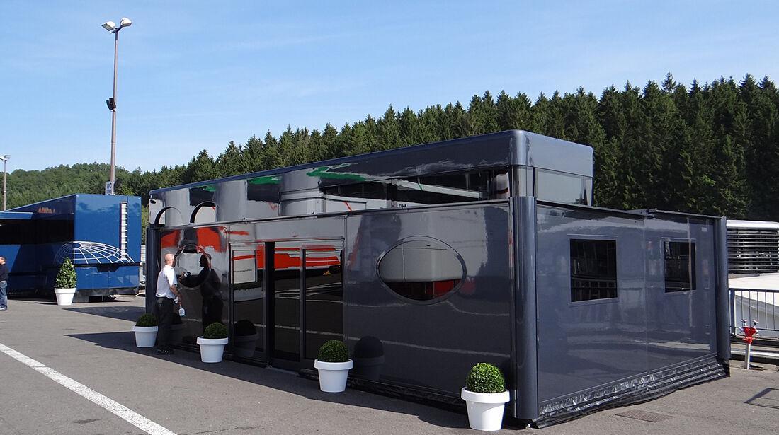 Ecclestone-Motorhome - Formel 1 - GP Belgien - Spa-Francorchamps - 22. August 2013