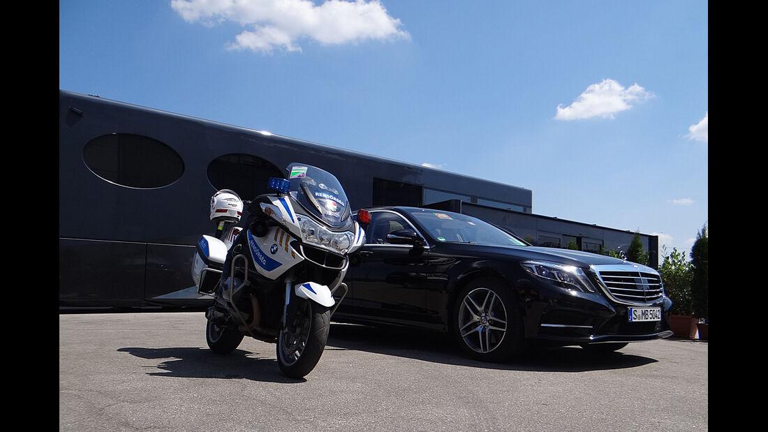 Ecclestone-Motorhome - Formel 1 - GP Ungarn - 26. Juli 2013