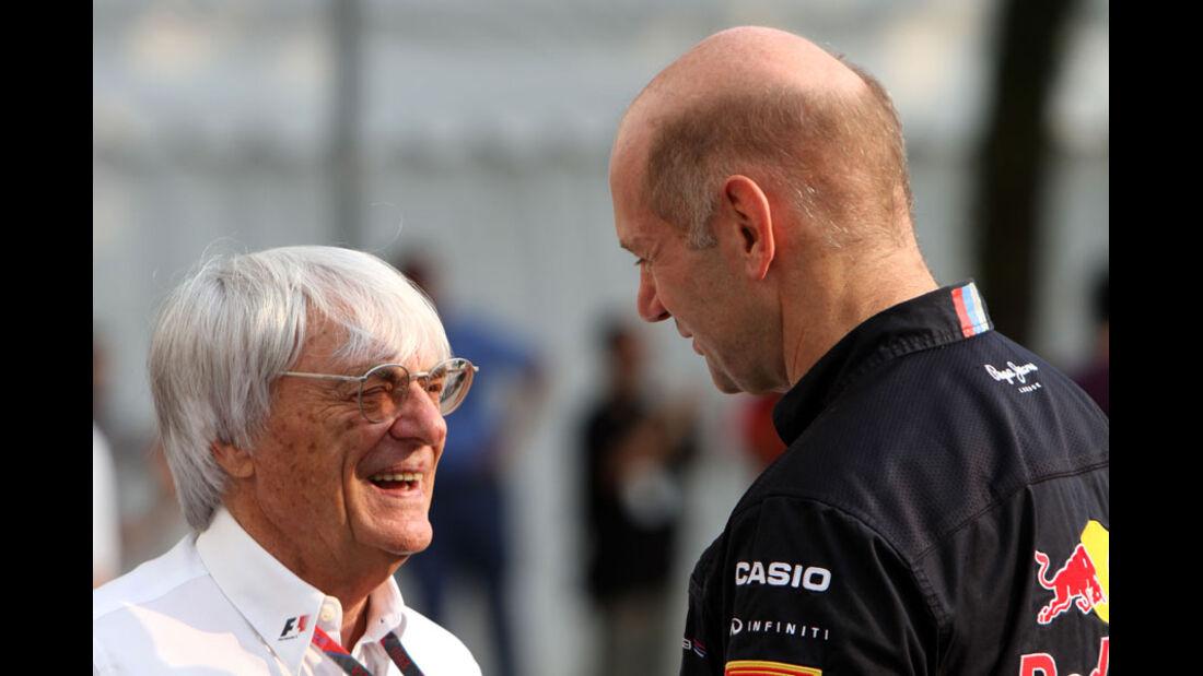 Ecclestone & Newey - GP Singapur - 24. September 2011