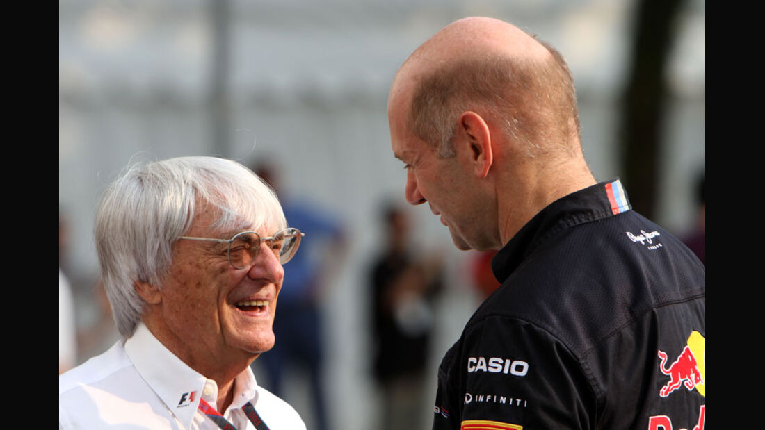 Ecclestone & Newey - GP Singapur - 24. September 2011