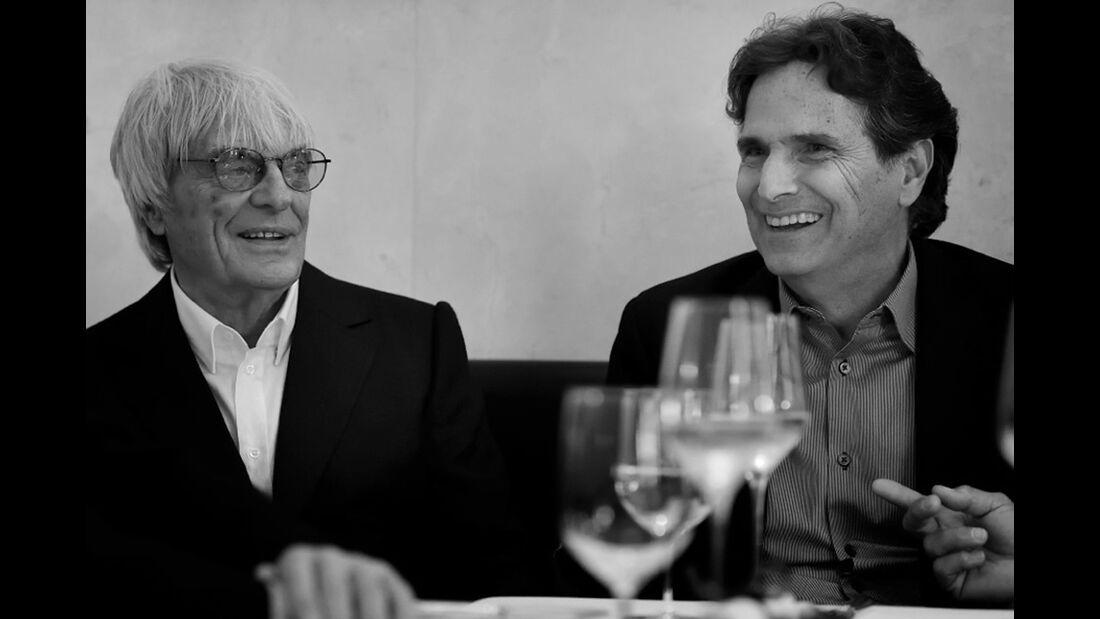 Ecclestone - Piquet - Champions Dinner - GP Österreich 2015