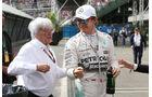 Ecclestone & Rosberg - Formel 1 - GP Mexiko - 31. Oktober 2015
