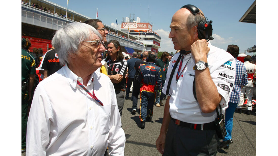 Ecclestone Sauber GP Spanien 2011