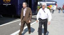 Ecclestone & Todt - Formel 1 - GP Ungarn - 27. Juli 2013