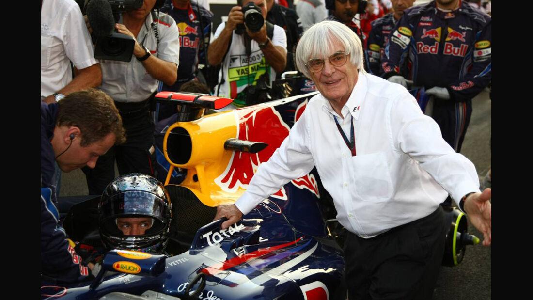 Ecclestone Vettel GP Abu Dhabi 2010
