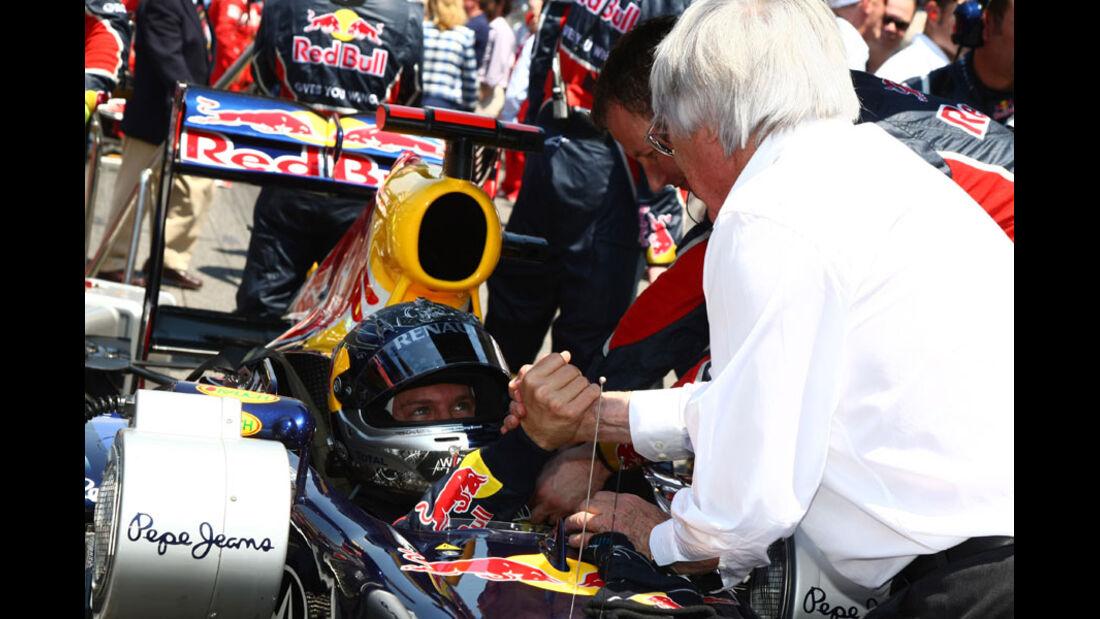 Ecclestone Vettel GP Spanien 2011
