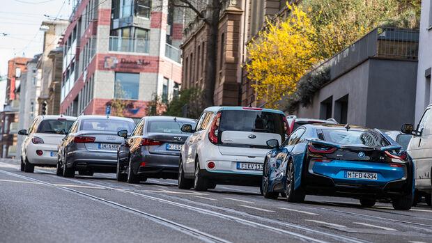 Eco-Anzeige, Testwagen